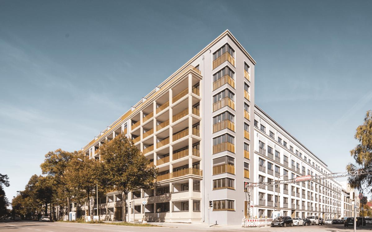 Evoreal Wohnungen, Bürogebäude, Neubau