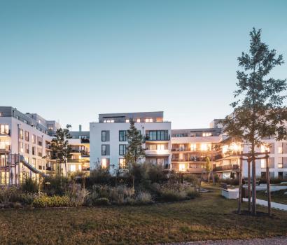 Evoreal Gebäude, Immobilien